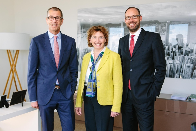 Nicola Beer zu Gast bei Union Investment